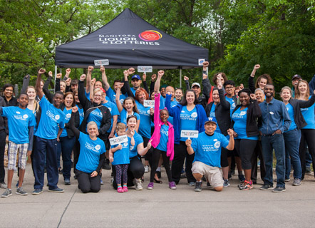 Employees at the Manitoba Marathon